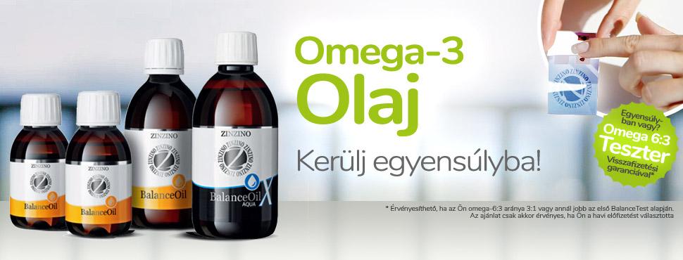 OMEGA 3 olaj és Omega 3 : 6 arány teszt - Kerülj egyensúlyba!