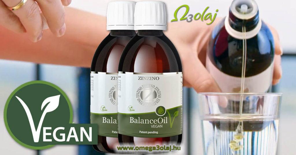 vegan omega 3 olaj omega három olaj ízesített zinzino vegan balance oil